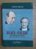 Zenovie Carlugea - Blaga-Goethe, afinitati elective