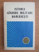 Anticariat: A. Giurgiu - Istoria gandirii militare romanesti