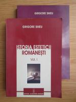 Anticariat: Grigore Smeu - Istoria esteticii romanesti (2 volume)