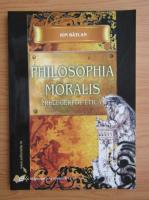 Anticariat: Ion Batlan - Philosophia moralis