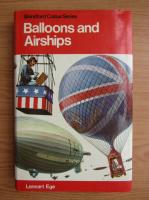 Anticariat: Lennart Ege - Balloons and airships, 1783-1973