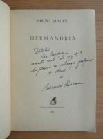 Anticariat: Miruna Runcan - Hermandria (cu autograful autorului)