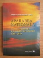 Anticariat: Radu Dan Septimiu Popa - Apararea nationala