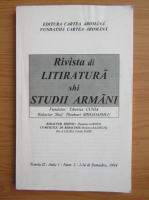 Anticariat: Rivista di litiratura shi studii armani, tomul 2, anul I, nr. 2, 1994