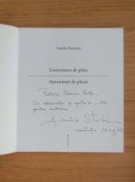 Anticariat: Amelia Stanescu - Asternuturi de ploaie (cu autograful autorului, editie bilingva)