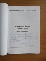 Anticariat: Constantin Gheorghe - Ministrii de interne (cu autograful autorului)