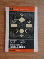 Anticariat: Gheorghe Coman - Introducere in informatica