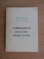 Anticariat: Keith Hitchins - Corespondenta lui Ioan Ratiu cu George Baritiu