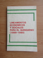 Anticariat: Lineamientos economicos y sociales para el quinquenio