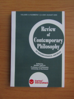 Anticariat: Marin Turlea - Review of contemporary philosophy, volume 4, nr. 1-2, may-august 2005
