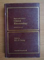 Anticariat: Mason and Currey's clinical rheumatology