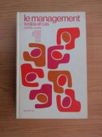 Pierre Laurin - Le management. Textes et cas