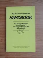 Anticariat: Pre-departure orientation handbook
