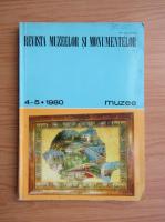 Anticariat: Revista muzeelor si monumentelor, nr. 4-5, 1980