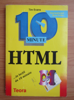 Anticariat: Tim Evans - 10 minute HTML