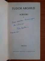 Tudor Arghezi - Scrieri volumul 8, cu autograful autorului