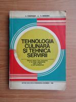Anticariat: A. Chirvasuta - Tehnologia culinara si tehnica servirii