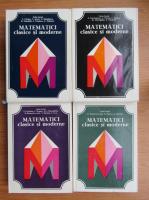 Anticariat: Caius Iacob - Matematici clasice si moderne (4 volume)