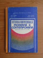 Camil Muresan - Istoria universala moderna si contemporana. Manual pentru clasele a X-a si a XII-a (1991)