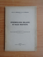 Anticariat: D. Mezincescu - Epidemiologia malariei in Valea Mostistei (1943)
