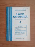 Anticariat: Gazeta Matematica, anul LXXXVI, nr. 4, 1981