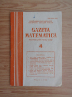 Anticariat: Gazeta Matematica, anul XC, nr. 4, 1985