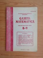 Anticariat: Gazeta Matematica, anul XCV, nr. 8-9, 1980