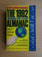 Anticariat: Information Please Almanac 1992
