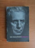 Anticariat: Ion Manolescu - Amintiri