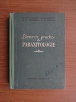 M. Georgescu - Elemente practice de parazitologie