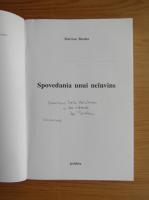 Marcian Bleahu - Spovedania unui neinvins (cu autograful autorului)