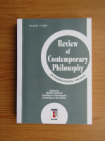 Anticariat: Marin Turlea - Review of contemporary philosophy, volume 7, 2008