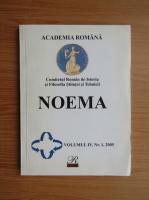 Anticariat: Noema, volumul 4, nr. 1, 2005