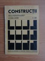 Anticariat: Revista Constructii, nr. 10-11, octombrie-noiembrie, 1987