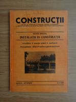 Anticariat: Revista Constructii, nr. 8-9, august-septembrie, 1987
