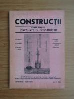 Anticariat: Revista Constructii, nr. 9-10, septembrie-octombrie, 1986