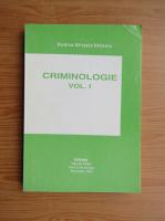 Anticariat: Rodica Mihaela Stanoiu - Criminologie (volumul 1)