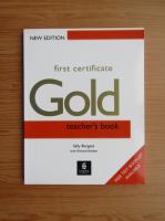 Anticariat: Sally Burgess - First certificate Gold. Teacher's book