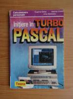 Anticariat: Valentin Cristea - Initiere in Turbo Pascal