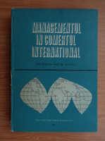 Anticariat: Al. Puiu - Managementul in comertul international