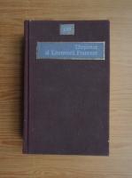 Anticariat: Alexandru Dimitriu Pausesti - Dictionar al literaturii franceze