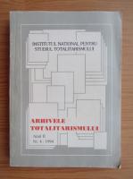Anticariat: Arhivele totalitarismului, anul II, nr. 4, 1994
