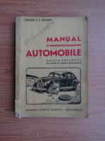 Anticariat: C. N. Zegheru - Manual de automobile (1947)