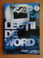Anticariat: Dominic Bucerzan - Lectii de word