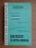Anticariat: Eminescu in critica germana
