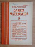 Anticariat: Gazeta Matematica, anul XC, nr. 5, 1985