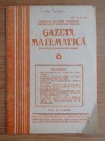Gazeta Matematica, anul XC, nr. 6, 1985