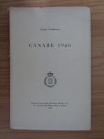 Anticariat: George Cioranescu - Canare 1960