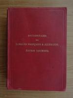 Anticariat: J. E. Wessely - Nouveaux dictionnaires de poche (1909)