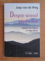 Anticariat: Jaap van de Weg - Despre sensul piedicilor